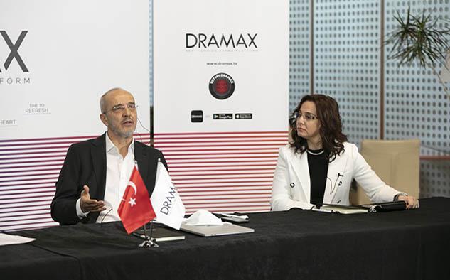 Murat Saygı, miembro de la Junta Ejecutiva de Dramax, en la presentación