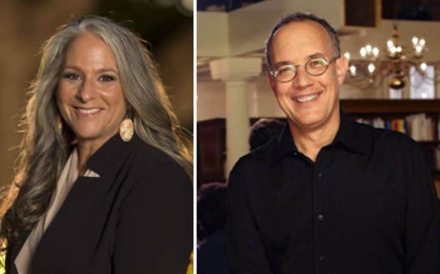 """Marta Kauffman y David Crane, cocreadores de la perenne serie de comedia """"Friends"""""""