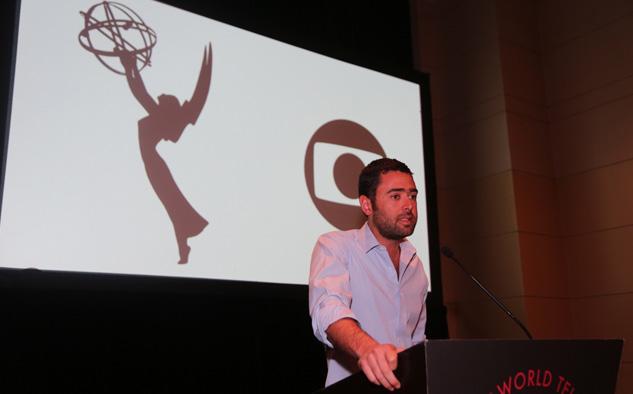 """Roberto Marinho Neto, director del Grupo Globo: """"Nuestra historia con la Academia Internacional comenzó hace mucho tiempo. En 1976, mi abuelo ganó nuestro primer Premio Emmy internacional: el Directorate Award. Desde entonces, hemos recibido 16 premios Emmy y un total de 92 nominaciones en diferentes categorías, incluidas 6 nominaciones este año""""."""