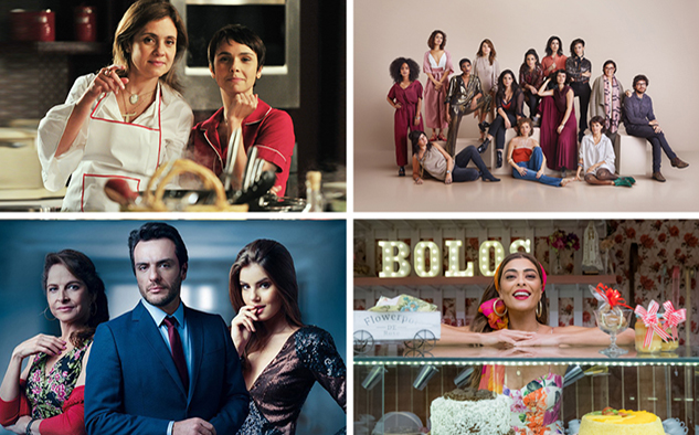 Las series Avenida Brasil, Todas las mujeres del mundo y Verdades secretas, así como la telenovela Dulce ambición, integran la oferta de Globo.