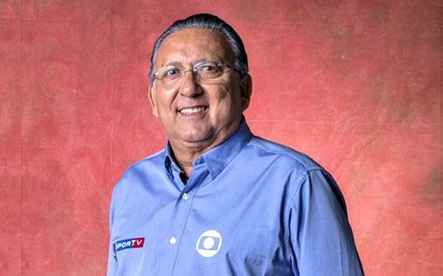 El comentarista Galvão Bueno es parte del equipo de Globo en Rusia.