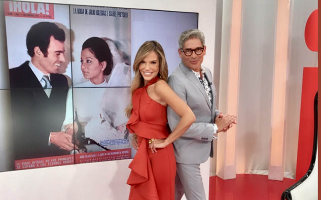 María José Barraza y Boris Izaguirre, una vez más al frente de Grandes Crónicas de ¡Hola!