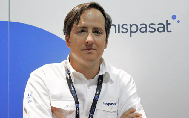 Iñaki Latasa, responsable de Comunicación de Hispasat
