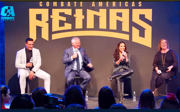 """El punto de enfoque más inmediato de Del Castillo, como propietaria, será el próximo evento televisivo en vivo """"Reinas del Combate"""" desde el Galen Center de Los Ángeles el viernes 26 de abril."""