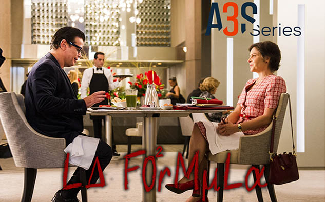 'La Fórmula', una comedia romántica sobre un inusitado triángulo amoroso que involucra a un hombre y a dos versiones de una misma mujer.