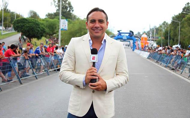 La voz del ciclismo en ESPN, Mario Sábato, será el relator del tour en las emisiones diarias.