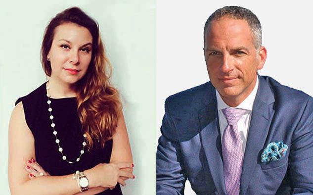 Sonia Fleck, CEO de Bomanbridge Media y Miguel Somoza, CEO de Sabbatical Entertainment.