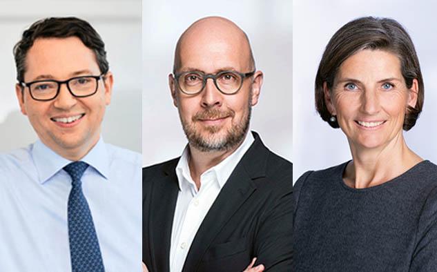Rainer Beaujean es el nuevo presidente. Wolfgang Link encabezará la división de Entretenimiento y Christine Scheffler continuará a cargo de los Recursos Humanos, ambos nuevo miembros de la junta.