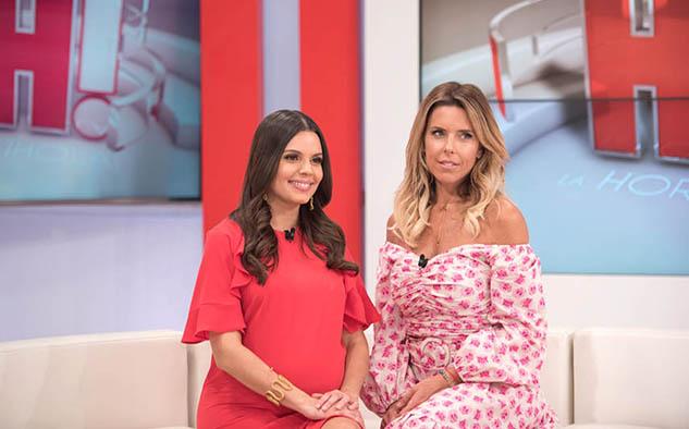 La actriz y modelo argentina Maky Soler. ocupará el lugar de la periodista y presentadora colombiana Natasha Cheij, que se convertirá en madre por segunda vez.