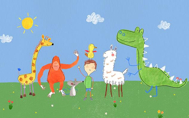 """""""Pablo"""" trata de un niño de cinco años con trastorno del espectro autista que utiliza el arte para expresarse."""