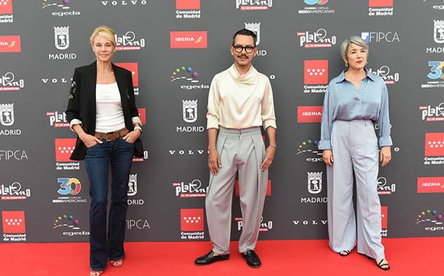 Belén Rueda, Manolo Caro y Paulina García, encargados de la la lectura de nominaciones.
