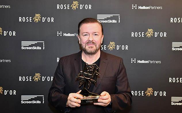 Ricky Gervais, Mejor Actuación del año.