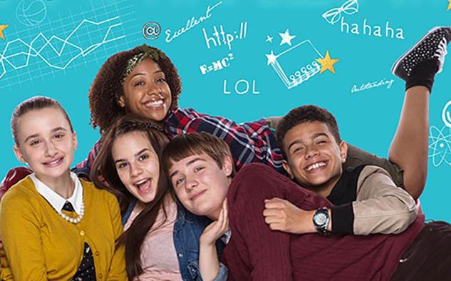 'So Awkward', la historia sobre tres niños inteligentes pero socialmente torpes ganó en la categoría Comedia.