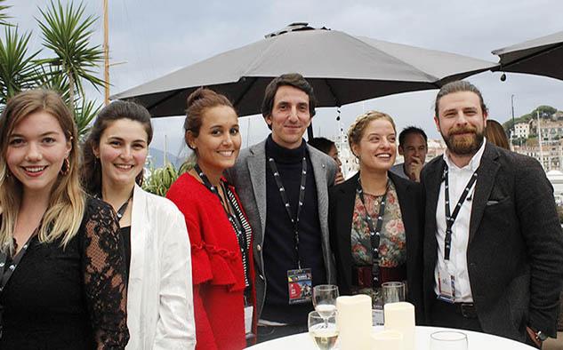 Dilara Kervancioglu, Salmi Gambarova, Mikaela Pérez, Selim Turkmen, Ekin Koyuncu y Kerim Emrah Turn, integrantes del staff Kanal D