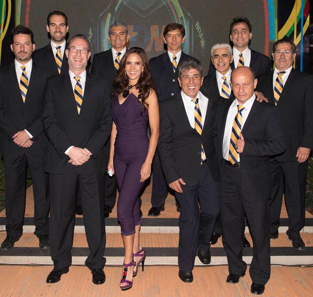 Team de TDN en cobertura del Mundial de Brasil.