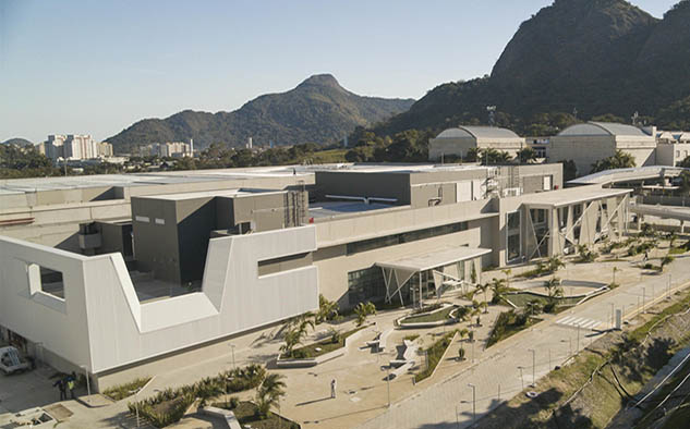 Las nuevas instalaciones en el polo productor de Globo en Río de Janeiro, inauguradas este jueves 8