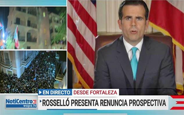 El 24 de julio durante la cobertura de la renuncia inminente del Gobernador, WAPA América fue la cadena de cable en español #1, alcanzando hasta 300,000 hogares – la mayor audiencia en su historia.