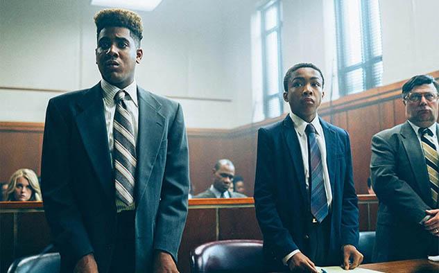 """""""When They See Us"""": la historia de un grupo de adolescentes negros e hispanos condenados injustamente por asalto y violación en 1989."""