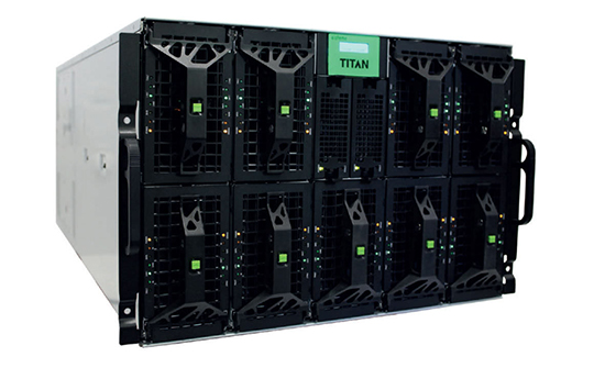 El sistema de tv digital Titan Live de ATEME