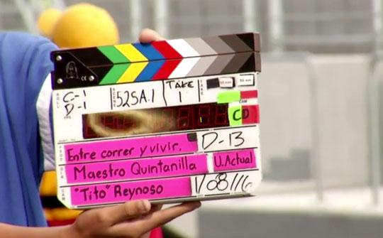 """Inician las grabaciones de la nueva súper producción """"Entre Correr y Vivir"""" de TV Azteca"""