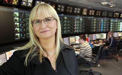 Dee Forbes, directora general de la cadena de radiodifusión pública irlandesa RTE.