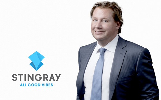 Eric Boyko co-fundador y director ejecutivo de Stingray
