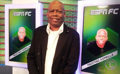 Faustino Asprilla, ex futbolista internacional, se suma a la mesa de ESPN Fútbol Club (FC).