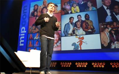 Dan Rose, VP de Alianzas de Facebook, durante su presentación en Cannes.