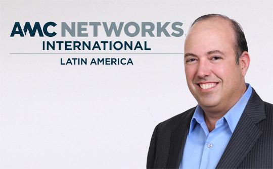 Gustavo López, vicepresidente de Distribución de AMC Networks International - Latin América.