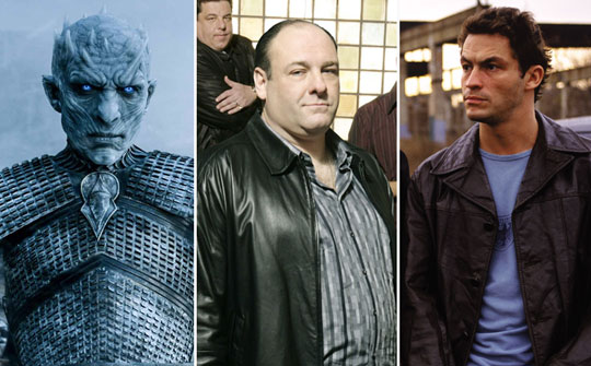 Game of Thrones, Los Soprano, The Wire