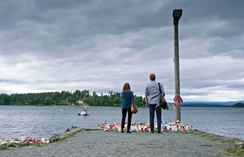 """La serie relata a través de personajes ficticios. pero basados en una exhaustiva investigación, """"uno de los días más oscuros de Noruega""""."""