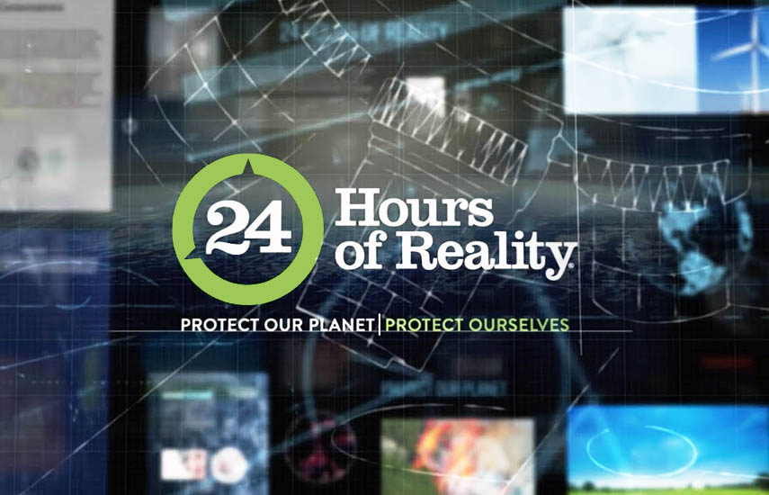 '24 Hours of Reality' de este año ayudará a educar a las comunidades de todo el mundo sobre los riesgos que la crisis climática representa para nuestra salud y las soluciones para resolverla.