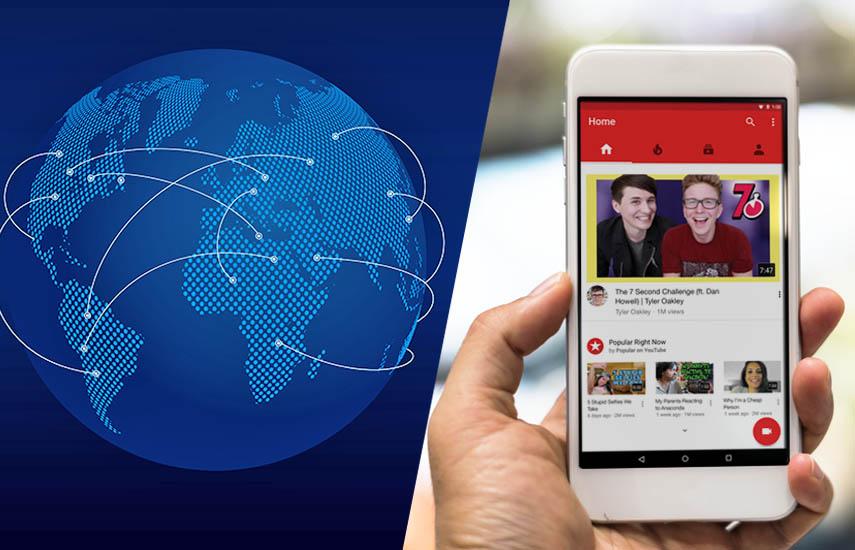 Entre 2018-2024, se espera que el tráfico total de datos móviles aumente en un factor de cinco, y se proyecta que las redes 5G transportarán el 25% del tráfico móvil al final del período.