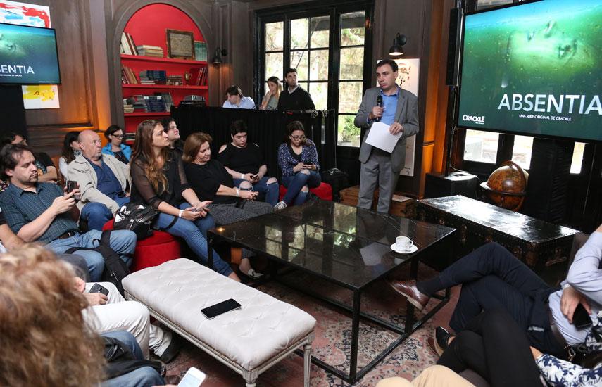 En América Latina, la presentación de la serie tuvo acciones de promoción por parte de Sony Pictures Television Netowrks, propietario del SVOD Crackle, destacándose las presentaciones especiales en Argentina y en Colombia, a cargo de Gustavo Mónaco, vicepresidente de Distribución a Afiliados de Crackle Latin America.