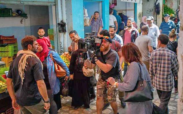 Los actores de 'Promesas de arena' comienzan el rodaje en Túnez (RTVE)