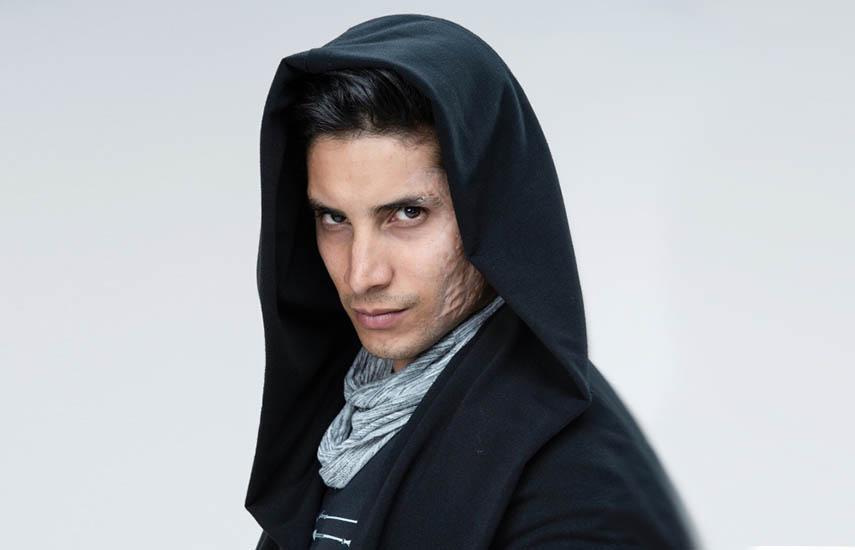 Alex Perea, protagonista central del drama policíaco.
