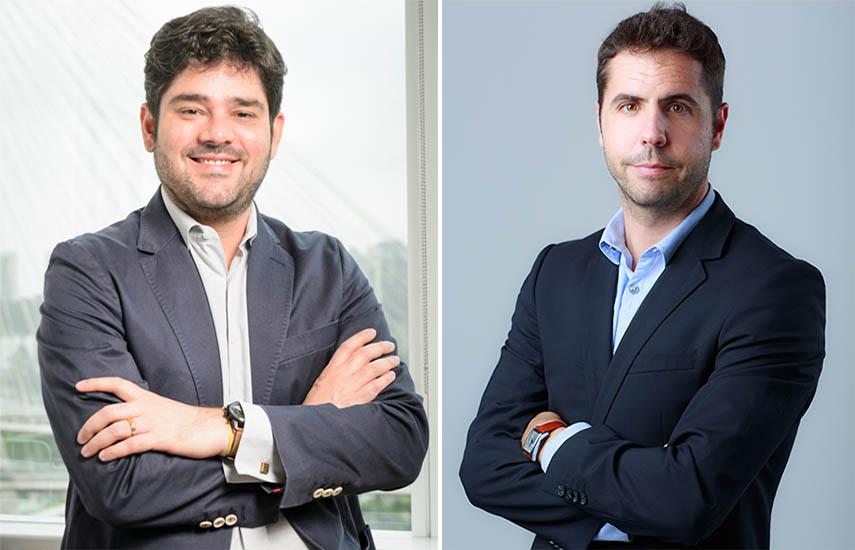 Raphael Corrêa Netto, director ejecutivo de Negocios Internacionales de Globo y Javier Nuche, director general de Atresmedia Internacional. (fotos: Ramón Vasconcellos / Roberto Garver.)
