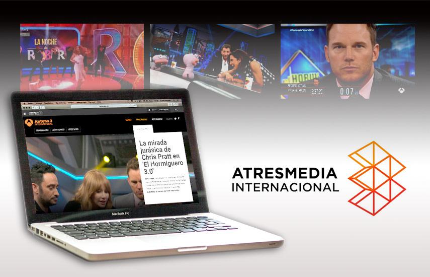 Otra de las novedades de importancia que ofrecen las nuevas webs es la posibilidad de acceso directo a Atresplayer, la plataforma OTT del Grupo Atresmedia,