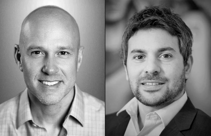 Jason Weiss, COO de Whip Media Group y Tomás Gennari, CEO de BB