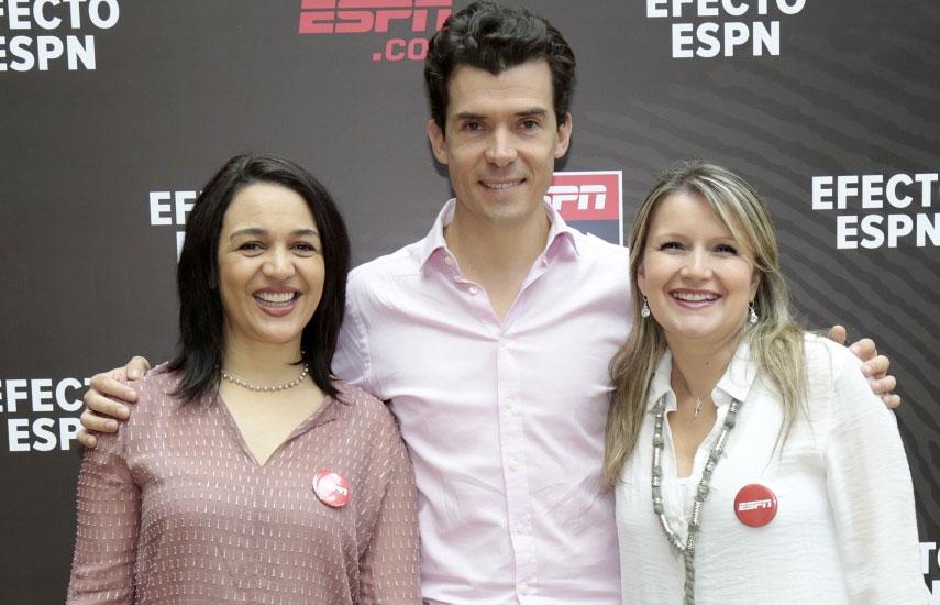 Beatriz Gil, Juan Bonilla y Paula Hincapié
