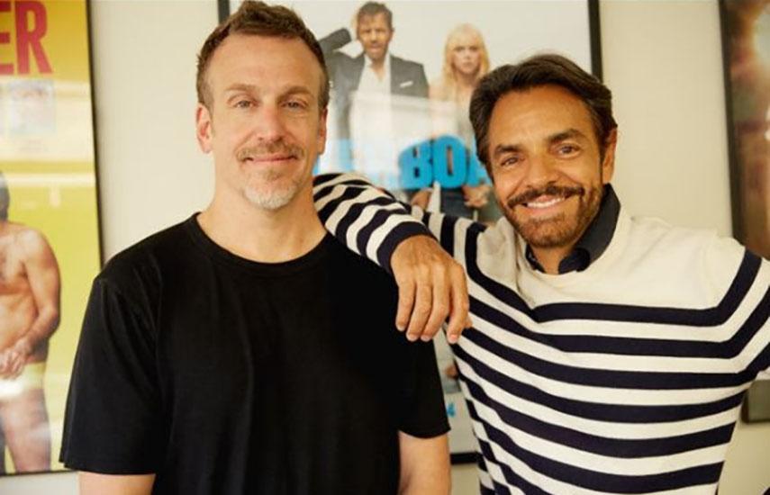 Ben Odell y Eugenio Derbez, dirigen3Pas Studios, compañía conoficinas en Los Ángeles, Miami y Ciudad de México.