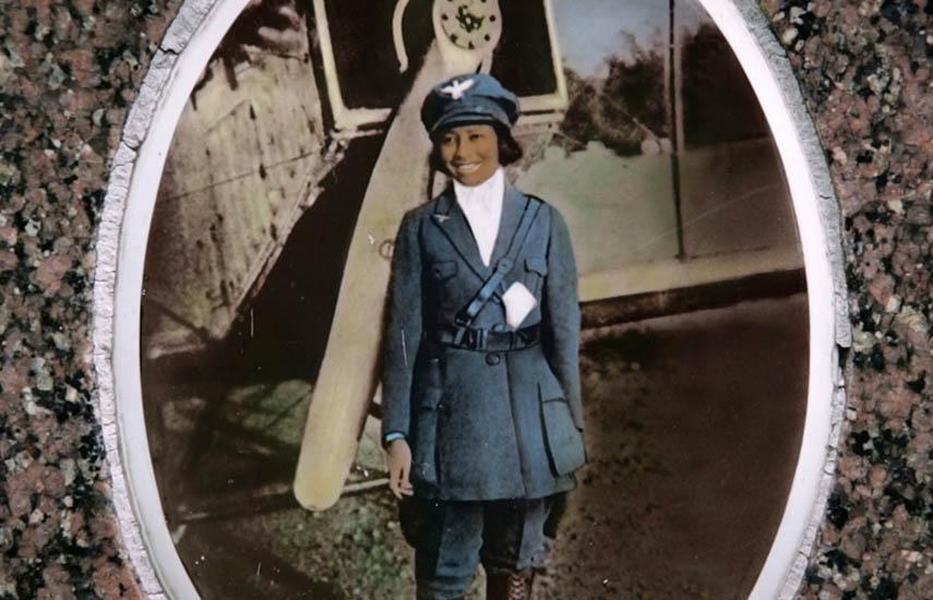 Bessie Coleman, the First Black Aviatrix.