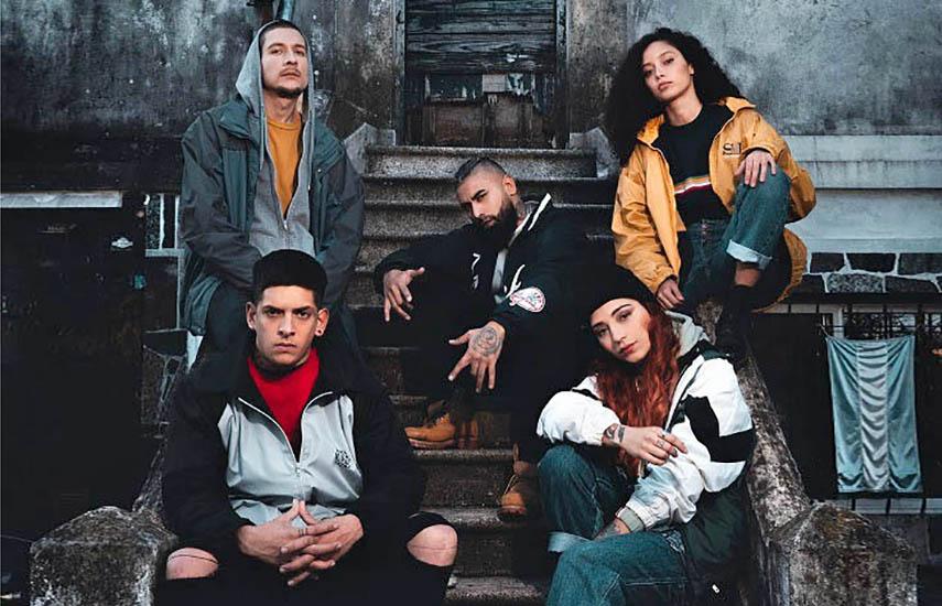 """La serie web """"Broder"""", es una ficción moderna que combina actores profesionales con auténticos referentes de la escena de la música urbana de Argentina."""