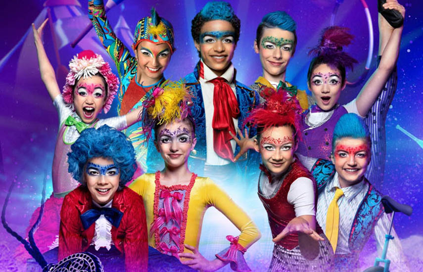 """El grupo de jóvenes artistas está de regreso en Discovery Kids para el estreno de la nueva temporada de """"Big Top Academy""""."""