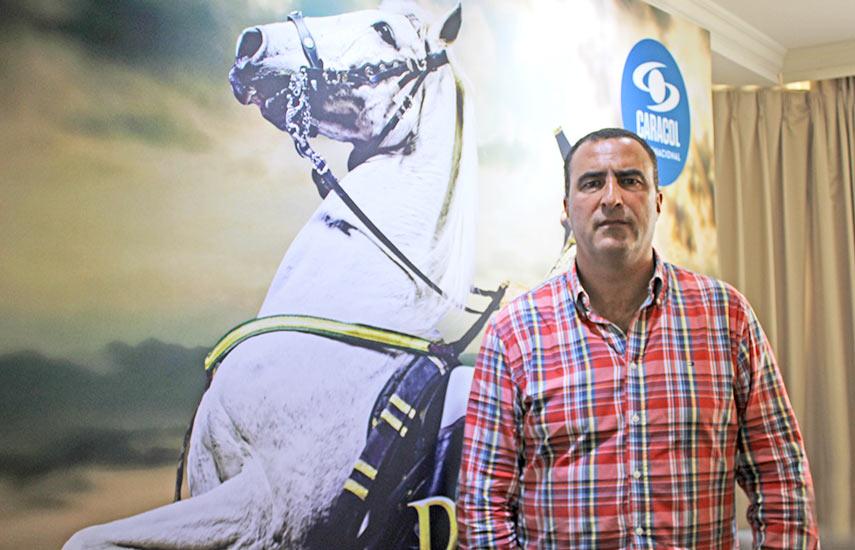 """Aser Aguilar, productor de """"Bolívar. Una lucha admirable"""", de Caracol de Colombia"""