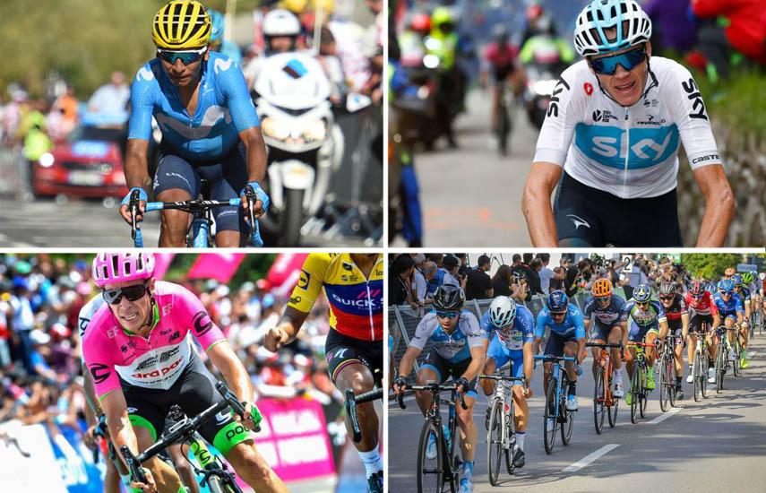 Chris Froome (Team Sky), será la principal figura, más la presencia de las estrellas colombianas Nairo Quintana (Movistar Team) y Rigoberto Urán (Education First Drapac), en una nómina de 168 corredores.
