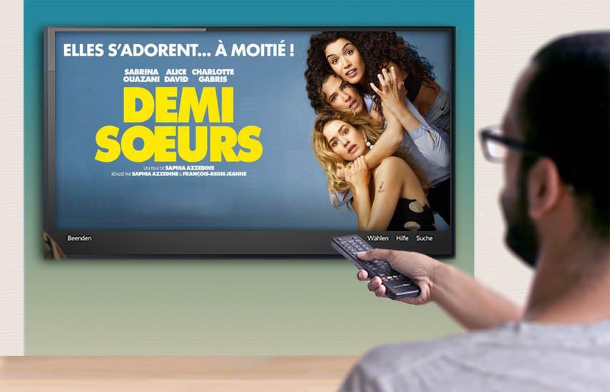 En cada país el top 10 de las películas más promocionadas en Europa muestra una fuerte presencia del Reino Unido (incluidas 2 producciones respaldadas por estudios estadounidenses) y Francia (Taxi 5, Love Addict, Demi Soeurs, Les Tuche 3 y Le Doudou).