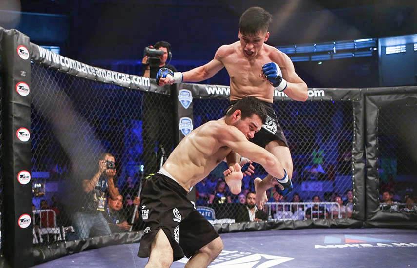 Combate Americas es la primera franquicia deportiva hispana de artes marciales mixtas (MMA), que se está convirtiendo en el deporte número dos después del fútbol, (Foto: Combateamericas.com)