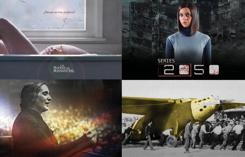 """Entre las producciones seleccionadas están """"Madres del manantial"""" (España); """"2050"""" (USA); """"Morir de pie"""" y """"El pájaro amarillo"""" (España)."""