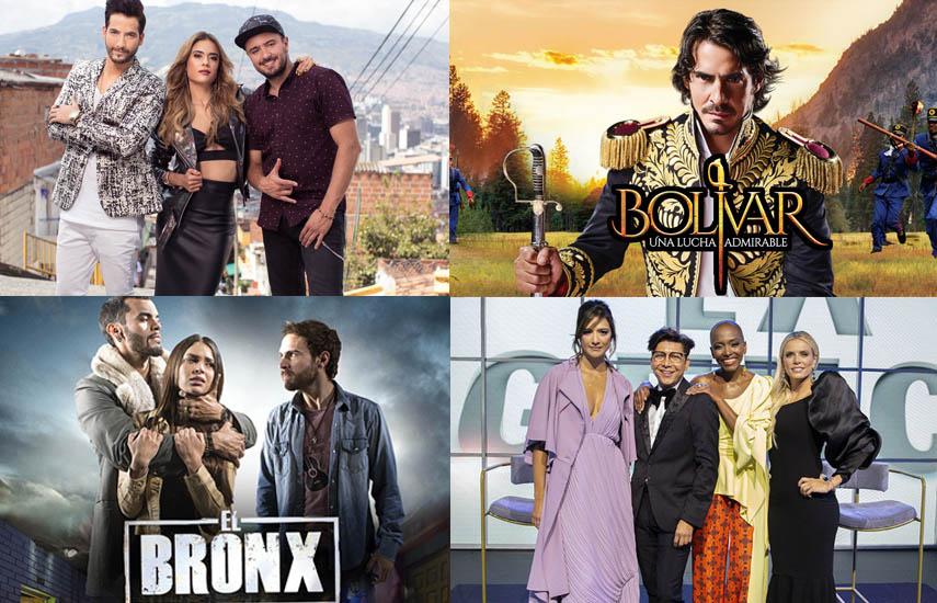 """La exitosa novela """"La Reina del Flow"""", la super serie """"Bolívar"""", la serie """"El Bronx"""", y el formato original de entretenimiento """"La Agencia"""" intengran su portafolio de contenidos para el evento."""